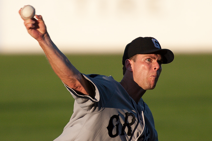 St. Paul Saints pitcher Mitch Wylie during a game against the Sioux Falls Canaries on June 23, 2009.