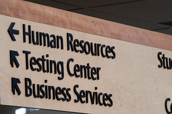 Another of MCTC's signs.  Tech Specs:Canon 30D  & Sigma 70-200 f/2.8; ISO 100; 1/13 seconds @ f/8.0; f = 200mm.