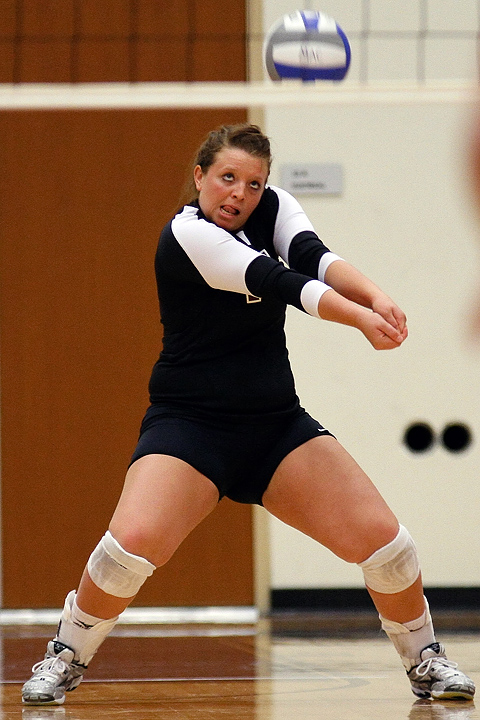 Augsburg volleyball player Jessica Hilk.