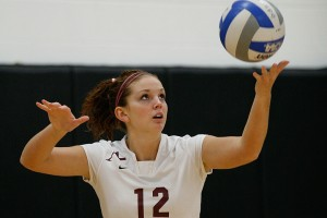 Denielle Johnson, Augsburg volleyball player