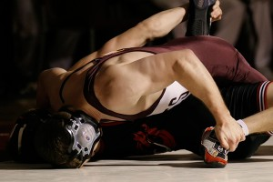 133 -- Evan Forde (MSUM, 12-4) pinned Paul Bjorkstrand (AUG, 7-4) 5:49 (MSU Moorhead 10-0).