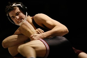 141 – Cody Hansen (AUG, 7-3) pinned Brady Schneeberger (MSUM, 11-6) 3:41 (MSU Moorhead 10-6).