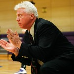 St. Benedict Women's Basketball Head Coach Mike Dubin.